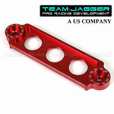 For 00-08 S2000 S2K Jdm Style Battery Tie Down Hold Bracket Lock Anodized Red
