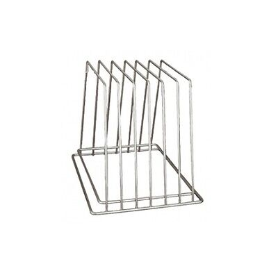 Stainless Steel Chopping Cutting Board 6 Slot Rack