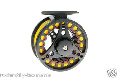 Fly Fishing Reel 7/8 Fully Loaded- Backing,Fly line,Leader