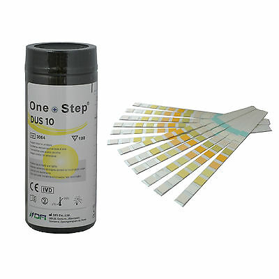 300 Doctor/GP 10 Parameter Urine Reagent Strip Tests Diabetes - ph - UTI & More