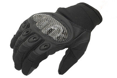 Fields Hard X Tactical Gloves Black Army Style Gloves Airsoft Biking Sports