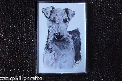 Welsh Terrier Magnet by Curiosity Crafts