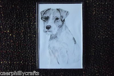 Parson Rusell Terrier Magnet by Curiosity Crafts