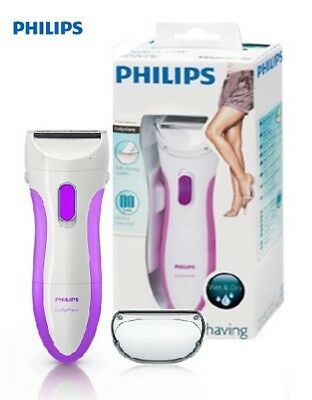 Philips Battery Ladyshave HP6341 Wet and Dry Single Foil Pink