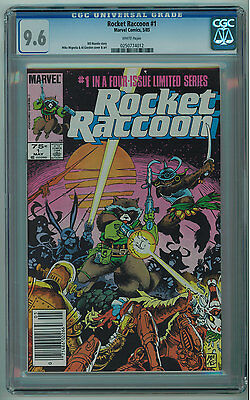 Rocket Raccoon #1 Cgc 9.6 Mike Mignola Art White Pages Copper Age
