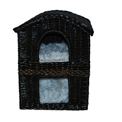 Luxury two tiers cat house,cat bed,small dog bed, Gorgeous hand made item