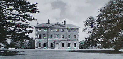 EVERINGHAM PARK HALL COUNTRY HOUSE YORKSHIRE 6pp PHOTO ARTICLE 1968