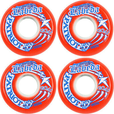 LABEDA WHEELS Inline Roller Hockey PATRIOT GOALIE 4-pack 59mm Indoor Goal