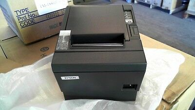 EPSON TM-T88III Black POS Thermal Printer - TM-T88IIIAU - M129C - USB - NEW