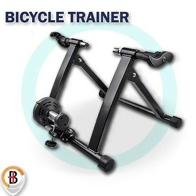 New Indoor Bicycle Trainer Home Gym Exercise Bike Training Fitness Cycling Stand