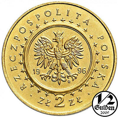 Poland Complete Set Of 4 Coins 1996 Nordic Gold Uncirculated Numishop