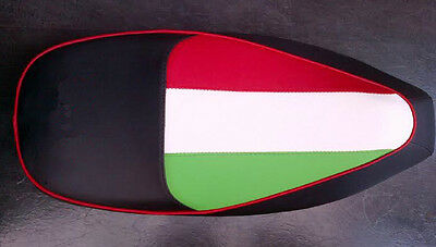 To Fit Vespa Gts 300  Custom Seat Cover Italian Flag