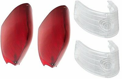 1954 1955 1956 Cadillac Tail & Backup Light Lens Set A/B Quality