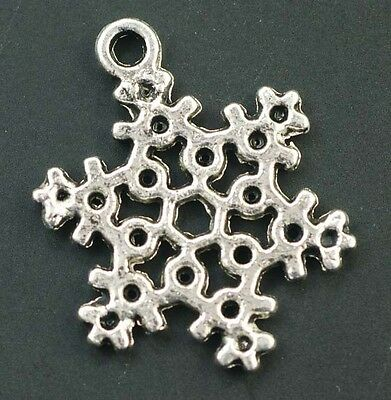 15pcs Antique Silver Jewelry Making Finding Charms Bead 23x17mm T0237