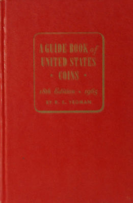 1965 Guide Book of United States Coins -18th Edition