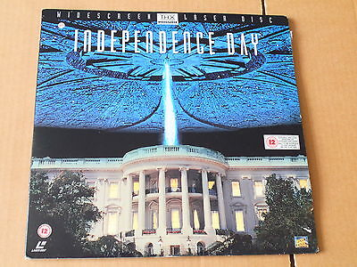INDEPENDENCE DAY LASERDISC (NTSC, VG Condition) includes 3D card