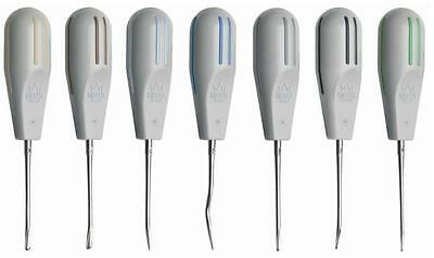 Luxator 7pc Kit Tooth Extraction Tools, Dental Elevators / #1L-C