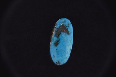 Natural Tyrone Turquoise Cab Cabochon High Grade Blue