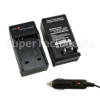 Battery Charger with Car Kit For Sony NP-BN1 Cyber Shot DSC-W830 W800 W730 W710