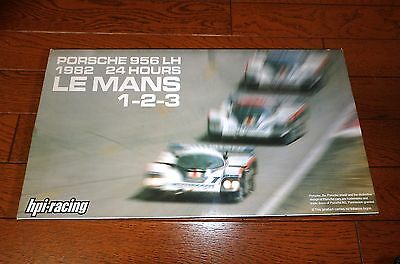 1/43 PORSCHE 956 LH 1982 1-2-3 LeMANS w/ ROTHM-NS LIVERY #8037 by HPI RACING