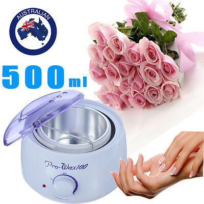 Wax Paraffin Pot 500ml Salon Beauty Waxing Warmer Heater Hair Removal Equipment