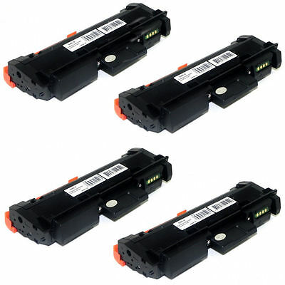4PK MLT-D116L Toner Cartridges for Samsung SL-M2625D 2626 2626 2675 2875 2885