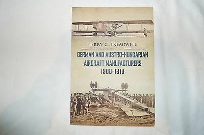 WW1 Germany German and Austro-Hungarian Aircraft Manufactures Reference Book