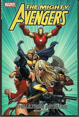 Mighty Avengers The Vol 1 Ultron Initiative Marvel 2007 Soft Cvr Gn Tpb New