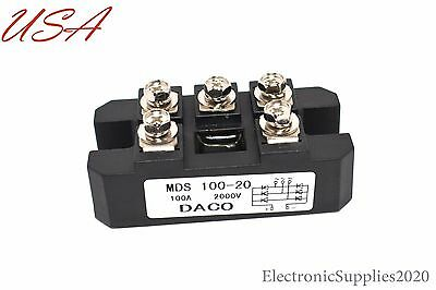 DACO  MDS100A 2000V 100 amp 2000 volts Rectifier Diode Bridge USA Seller!!!