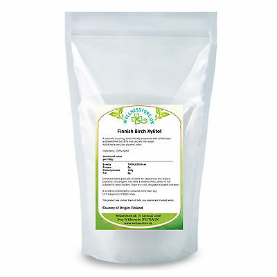 XYLITOL Finnish Birch Tree Xylitol 1kg 1.8kg 3kg Natural Alternative to Sugar
