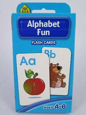 Alphabet Fun Flash Cards Ages 4-6 Early Learning - Hinkler 77810*