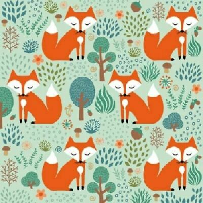 4 x Paper Napkins - Smart Fox - Ideal for Decoupage / Decopatch