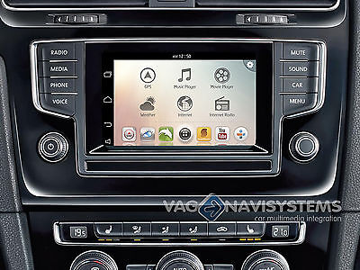 """Navegador VW Golf VII Composition Color/Pro 5.8""""/8""""- Android,GPS,Wifi,3G,USB,SD"""