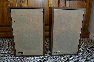 VINTAGE ADVENT/3 Speakers Tested near consecutive serial number