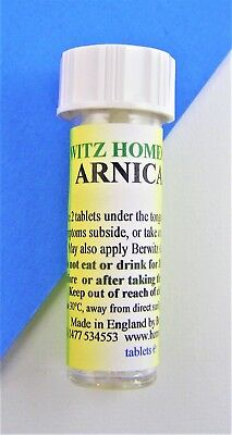 ARNICA HOMEOPATHIC REMEDY for bruising sprains and pre/post op care 6c 30c 200c
