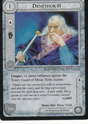 Denethor II Middle Earth The Wizards  CCG bb lim.Edition Mint/N.Mint 1995 ME05