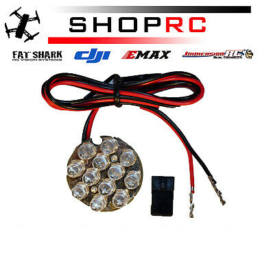 12 LED Cluster Lights Ideal for under multi rotor use