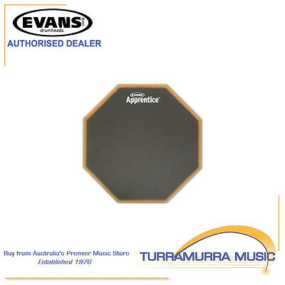 Evans Apprentice Drum Pad, 7 Inch, Real Feel Practice Drum Pad