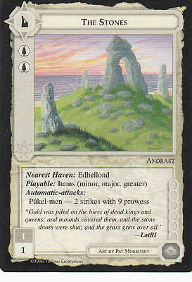 The Stones Middle Earth The Wizards CCG bb Lim. Edition Mint/N.Mint 1995 ME49
