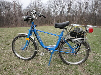 Vintage 1976 Safari FOX Moped Motorized Bicycle like Solex 1 of 12 Prototypes
