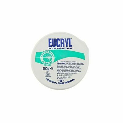 Eucryl Smokers Freshmint Toothpowder - 50g