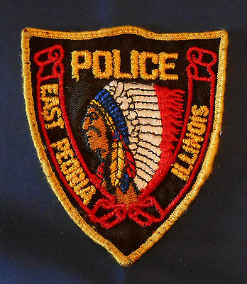 East Peoria, Illinois Police Shoulder Patch (invp3530)