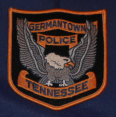 Germantown, Tennessee Police Shoulder Patch (invp4290)