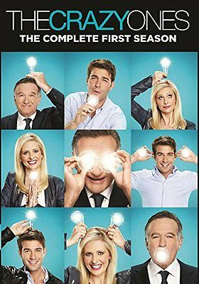 NEW The Crazy Ones: The Complete First Season (DVD)
