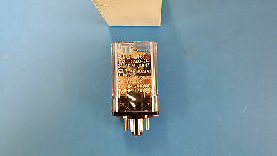 (1 Pc) R02-11A10-24 Nte Power Relay Dpdt 24Vac 10A Plug In