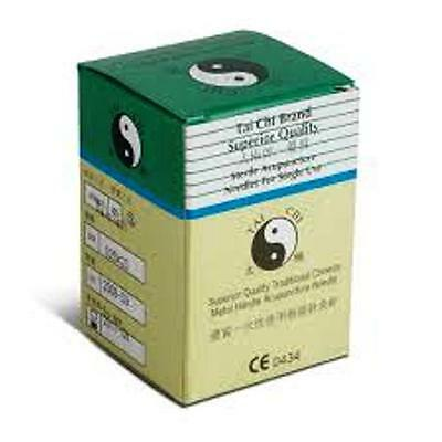 """Tai Chi"" acupuncture needles.  With guide tube, various sizes."