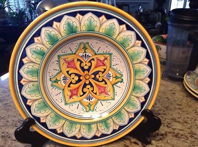 """Plate made in Italy! Made for UrbinoGialletii Giulio 14"""""""