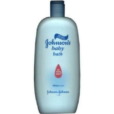 2 x Johnsons Baby Bath 500ml Each No More Tears Mild Gentle Cleansing