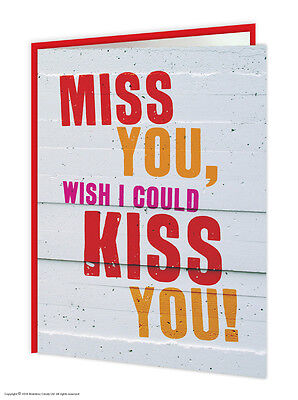 Missing You Thinking of You Greeting Card Brainbox Candy Funny Cute Humour