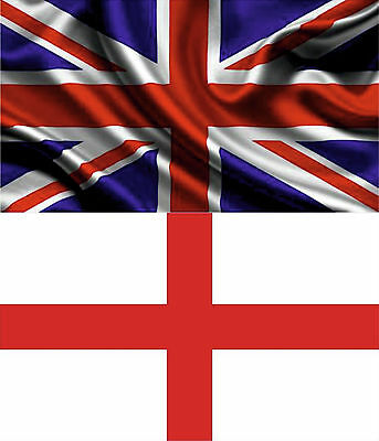 Union Jack Great Britain Uk & England St George Large Flag Rugby World Cup
